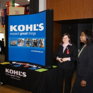 CHASS Management Career Fair - Kohl's table