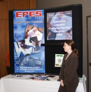 CHASS Management Career Fair - EPES Carriers Inc. table