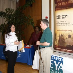 CHASS Management Career Fair - Eckerd EYA Youth Alternatives table