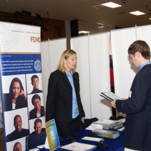 CHASS Management Career Fair - FDIC table