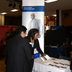 CHASS Management Career Fair - Ameriprise Financial table