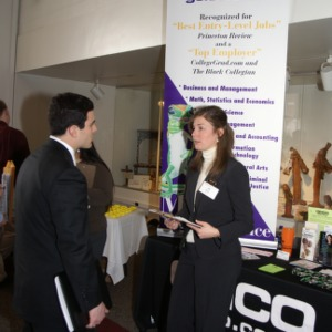 CHASS Management Career Fair - GEICO table