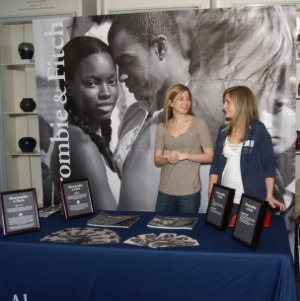 CHASS Management Career Fair - Abercrombie and Fitch table