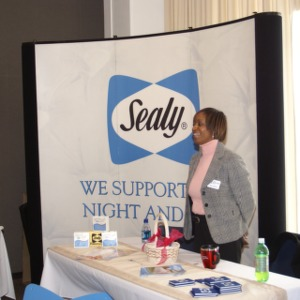 CHASS Management Career Fair - Sealy table