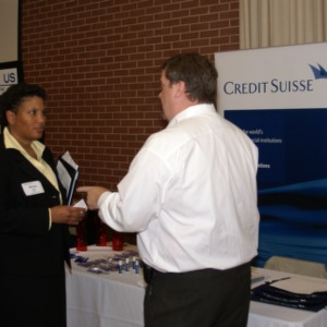 CHASS Management Career Fair - Credit Suisse Table