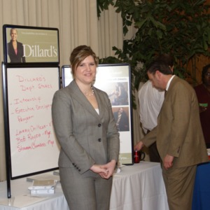 CHASS Management Career Fair - Dillard's Table