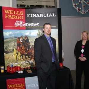 CHASS Management Career Fair - Wells Fargo Table