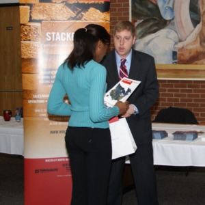 CHASS Management Career Fair - Wolseley Table