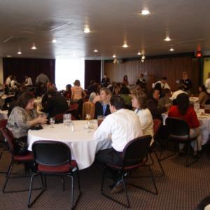 CHASS Management Career Fair lunch