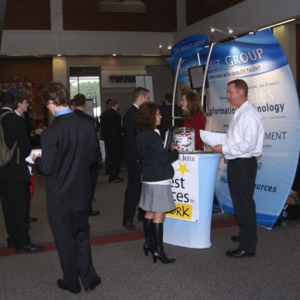 CHASS Management Career Fair - The Select Group table