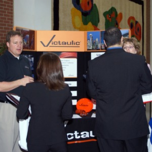 CHASS Management Career Fair - Victaulic table
