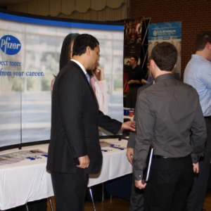 CHASS Management Career Fair - Pfizer table