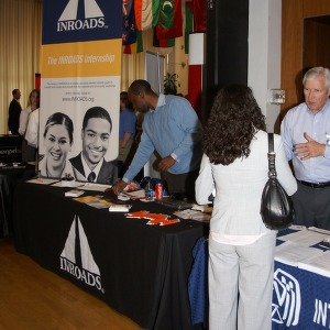 CHASS Management Career Fair - Inroads Internship table