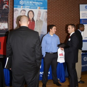 CHASS Management Career Fair - C.H. Robinson Worldwide Inc. table