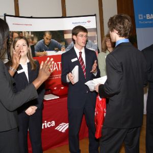 CHASS Management Career Fair - Bank of America table