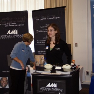 CHASS Management Career Fair - Associated Materials Incorporated table
