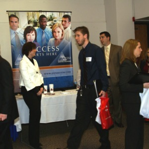 CHASS Management Career Fair - Maxim Staffing Solutions table