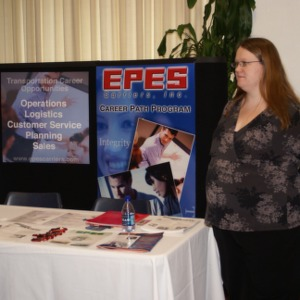 CHASS Management Career Fair - EPES Carriers, Inc. table
