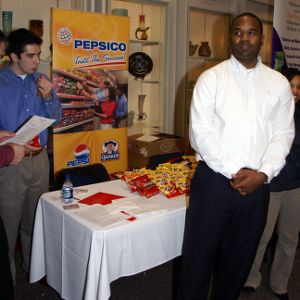 CHASS Management Career Fair - PepsiCo. table