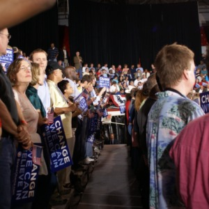Barack Obama Rally at Reynolds Coliseum