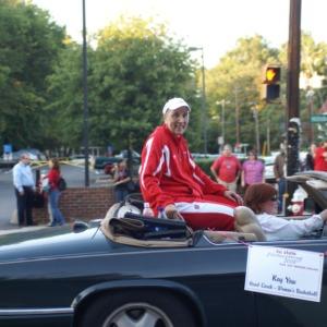 2008 Homecoming Parade, Kay Yow