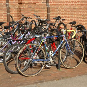 Bikes at Turlington Hall