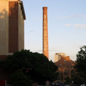 Steam Plant and Smokestack