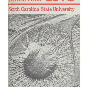 North Carolina State University Directory, 1978