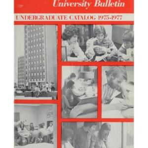 North Carolina State University Undergraduate Catalog, 1975-77