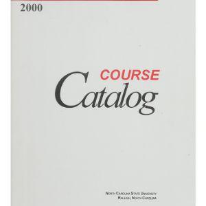 North Carolina State University Course Catalog, 2000