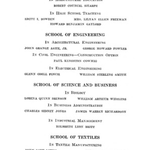 North Carolina State College of Agriculture and Engineering, Forty-Second Annual Commencement, June 9, 1931
