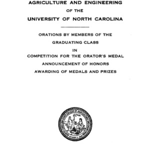 North Carolina State College of Agriculture and Engineering, Forty-Sixth Annual Commencement, June 8, 1935