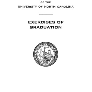 North Carolina State College of Agriculture and Engineering, Forty-Ninth Annual Commencement, June 6, 1938