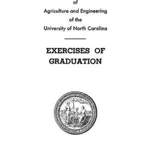 North Carolina State College of Agriculture and Engineering, Fifty-Seventh Annual Commencement, June 3, 1946
