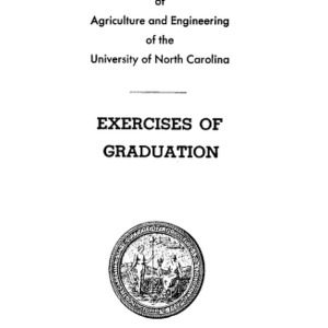 North Carolina State College of Agriculture and Engineering, Fifty-Ninth Annual Commencement, June 14, 1948