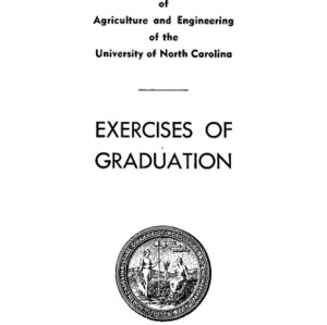 North Carolina State College of Agriculture and Engineering, Sixty-Third Annual Commencement, June 8, 1952