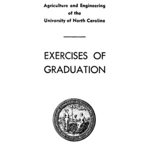 North Carolina State College of Agriculture and Engineering, Sixty-Fourth Annual Commencement, June 7, 1953