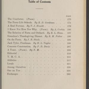 Red and White, Vol. 13 No. 3, November 1911