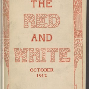 Red and White, Vol. 14 No. 1, October 1912