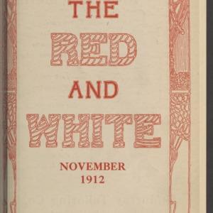 Red and White, Vol. 14 No. 2, November 1912
