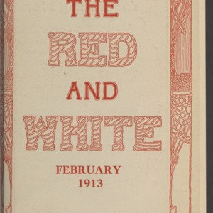 Red and White, Vol. 14 No. 4, February 1913