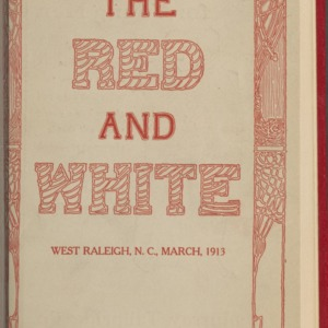 Red and White, Vol. 14 No. 5, March 1913