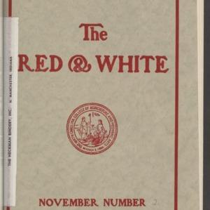 Red and White, Vol. 15 No. 2, November 1913
