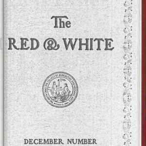 Red and White, Vol. 15 No. 3, December 1913