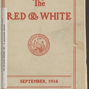 Red and White, Vol. 16 No. 1, September 1914