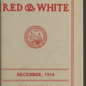 Red and White, Vol. 16 No. 3, December 1914