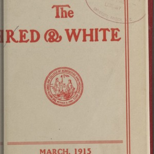 Red and White, Vol. 16 No. 5, March 1915