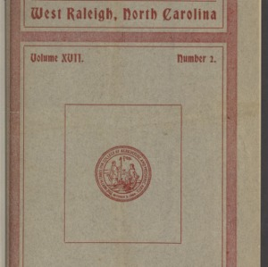 Red and White, Vol. 17 No. 2, October 13, 1915