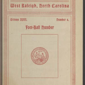Red and White, Vol. 17 No. 4, December 15, 1915