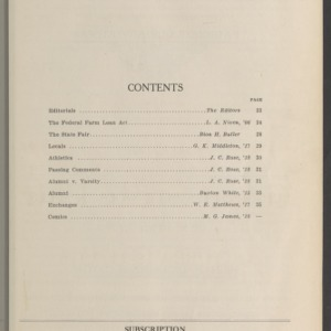Red and White, Vol. 18 No. 2, October 16, 1916